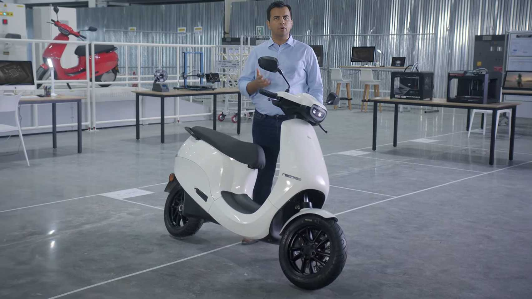 Ola Electric chief Bhavish Aggarwal has hinted at an imminent price rise for the Ola e-scooters. Image: Ola Electric