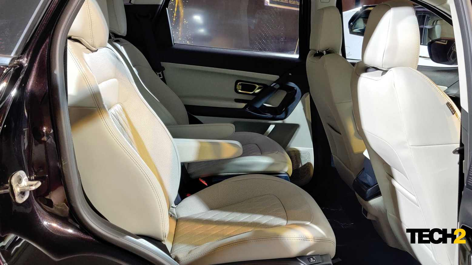 Ventilated second-row seats (only on the six-seat model) will be a huge draw for many buyers. Image: Tech2/Amaan Ahmed