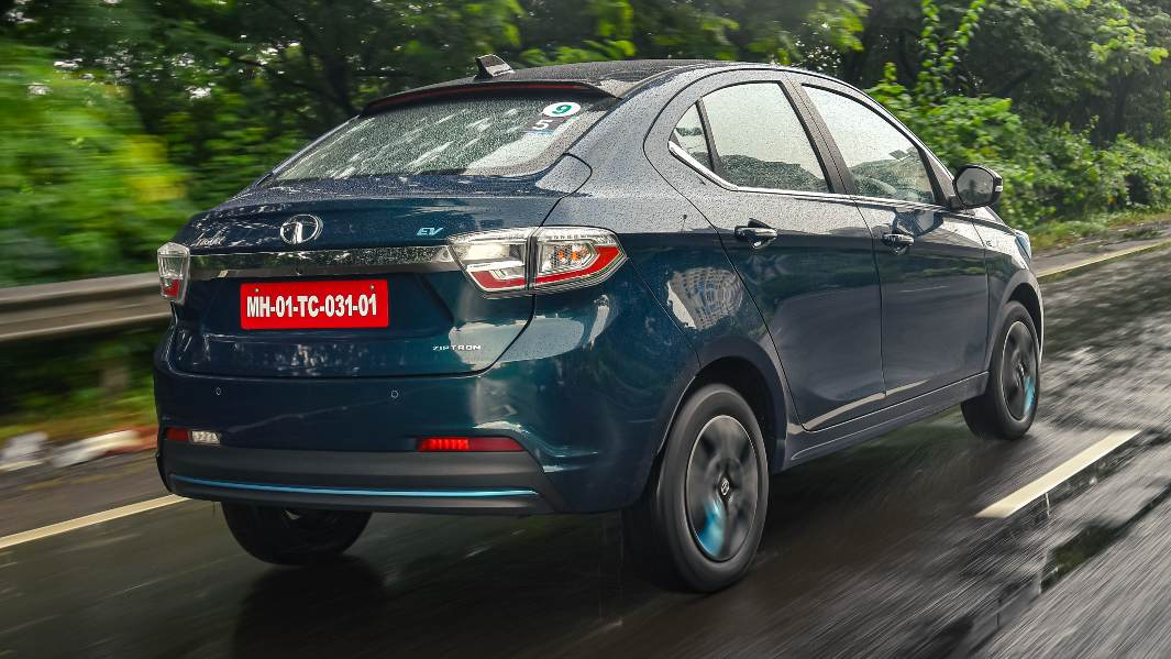 With state subsidies factored in, the Tigor EV Ziptron is the most affordable electric car on sale today by a big margin. Image: Anis Shaikh/Overdrive