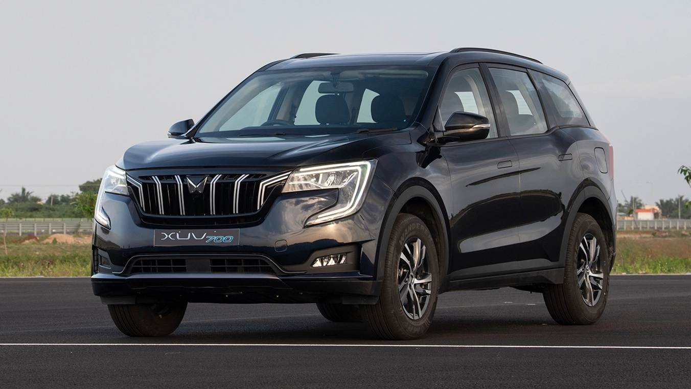 Deliveries of the XUV700 petrol will begin first. Image: Mahindra