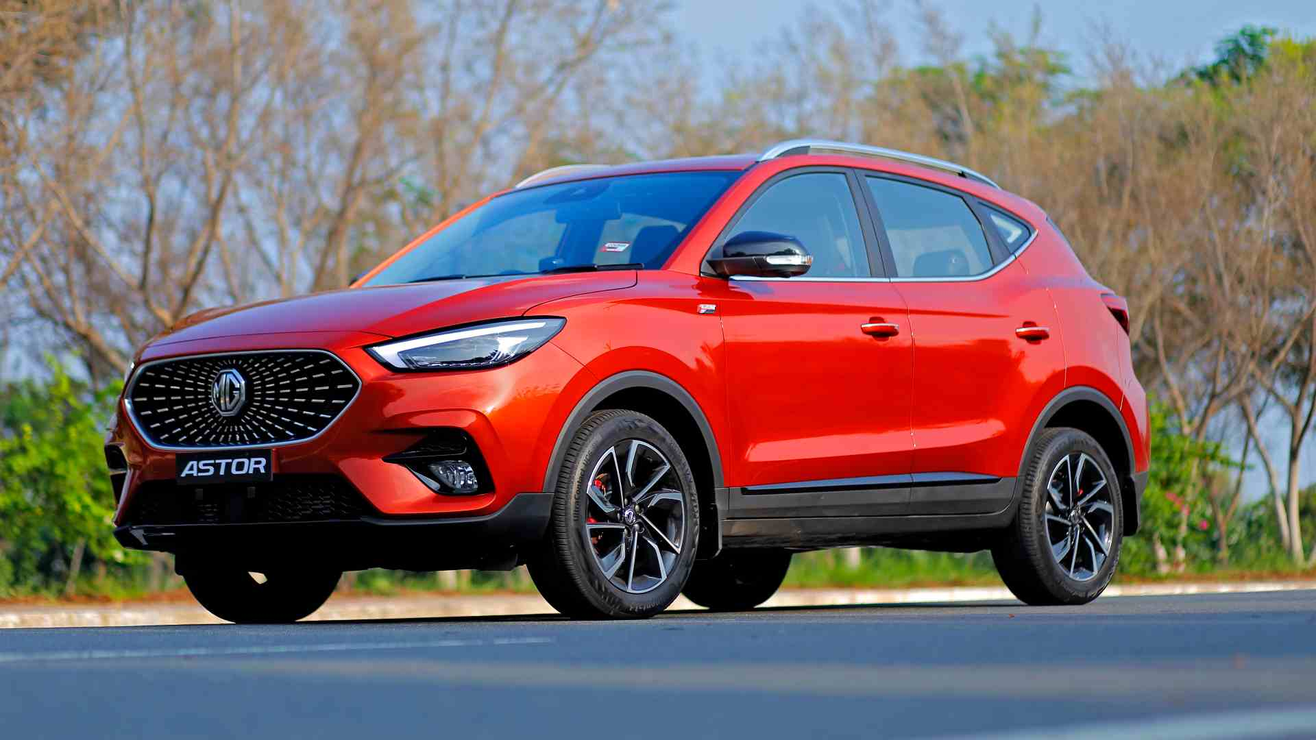 The Astor is the combustion-engine version of the ZS SUV, which India is already familiar with thanks to the ZS EV. Image: MG